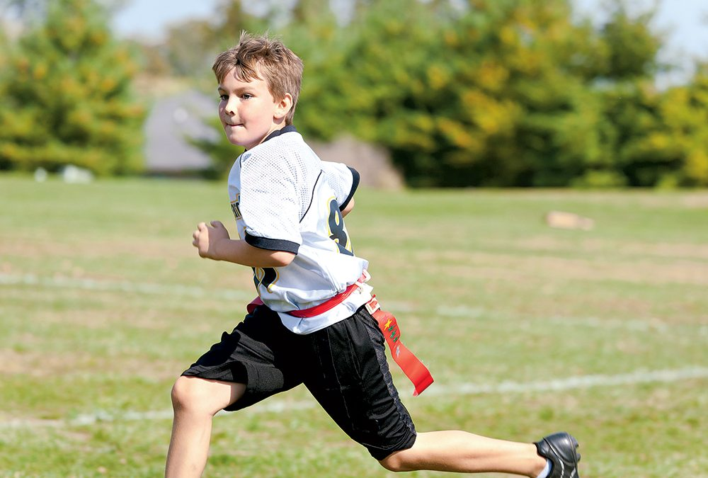 Weekly NFL Flag Football for Boys and Girls