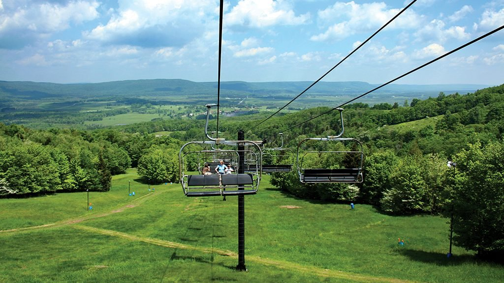Canaan Valley. Photograph by courtesy of Canaan Valley Resort.