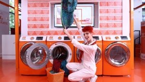 Hermès Just Opened the World's Fanciest Laundromat at CityCenterDC, and You Have Three Days to Check It Out