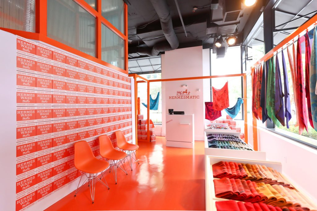 hermès, scarf, scarves, pop-up, CityCenterDC, washington, style, fashion, vintage