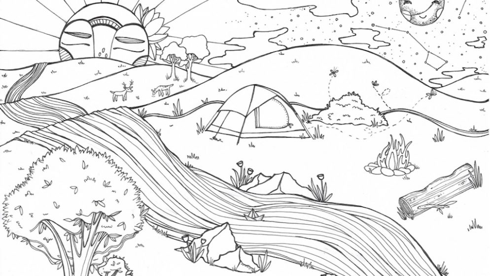 Your Kids (and You!) Will Love These FREE Printable Coloring Pages by 5 of DC's Coolest Artists