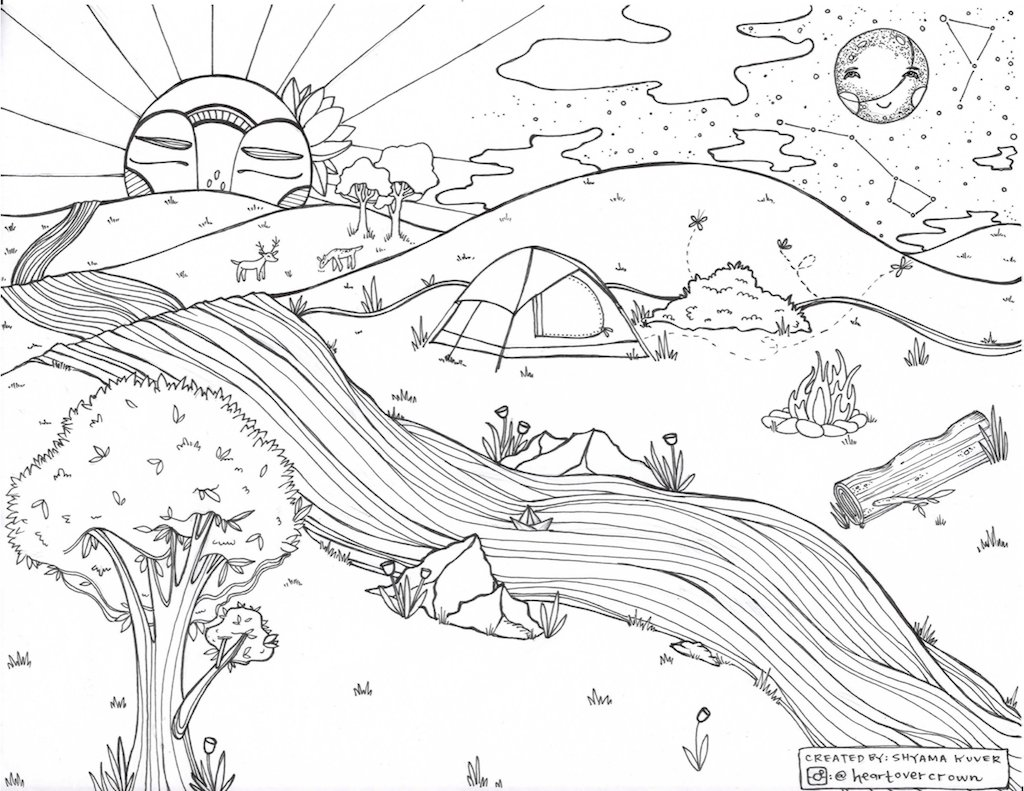 your kids and you will love these free printable coloring pages