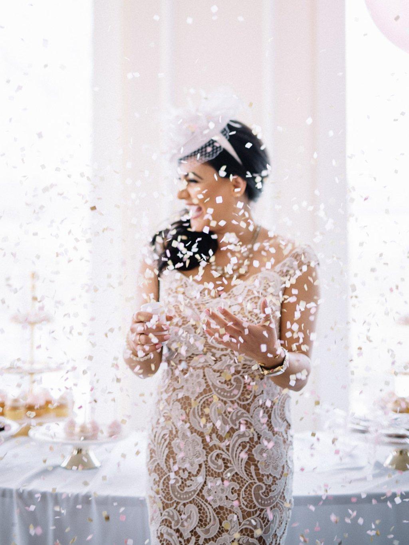 Trump National Golf Club | MiMi Ansari | Alexandra Friendly Tea Party Bridal Shower Toilet Paper