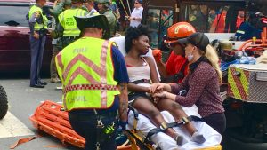 Car Strikes Protesters During White Supremacist Rally in Charlottesville