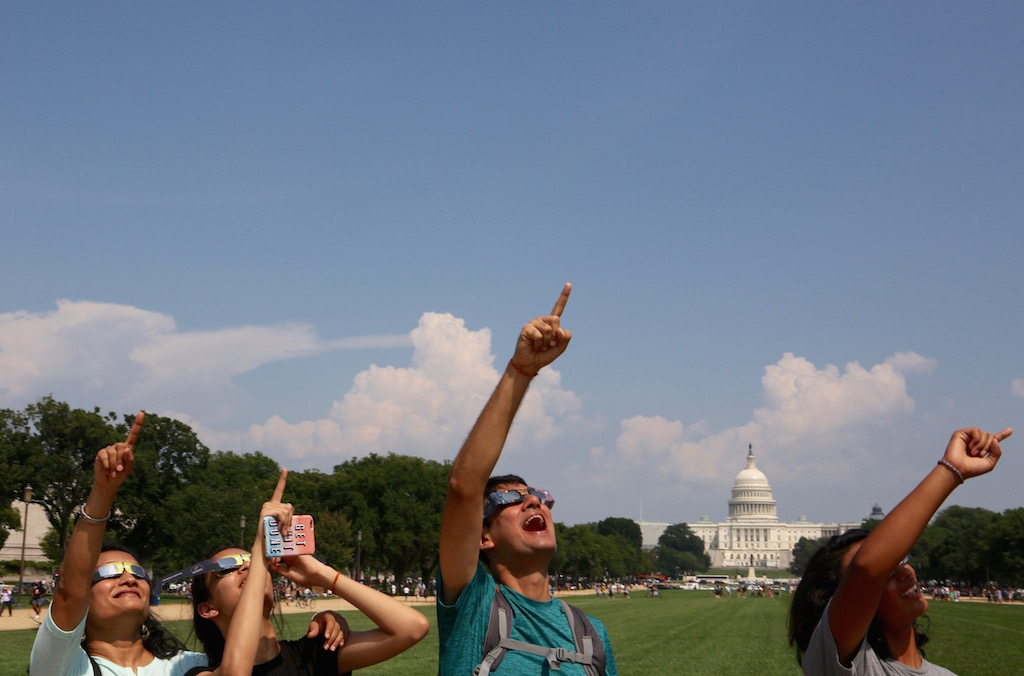 There Was an Eclipse Party on the Mall, and It Was Wonderful