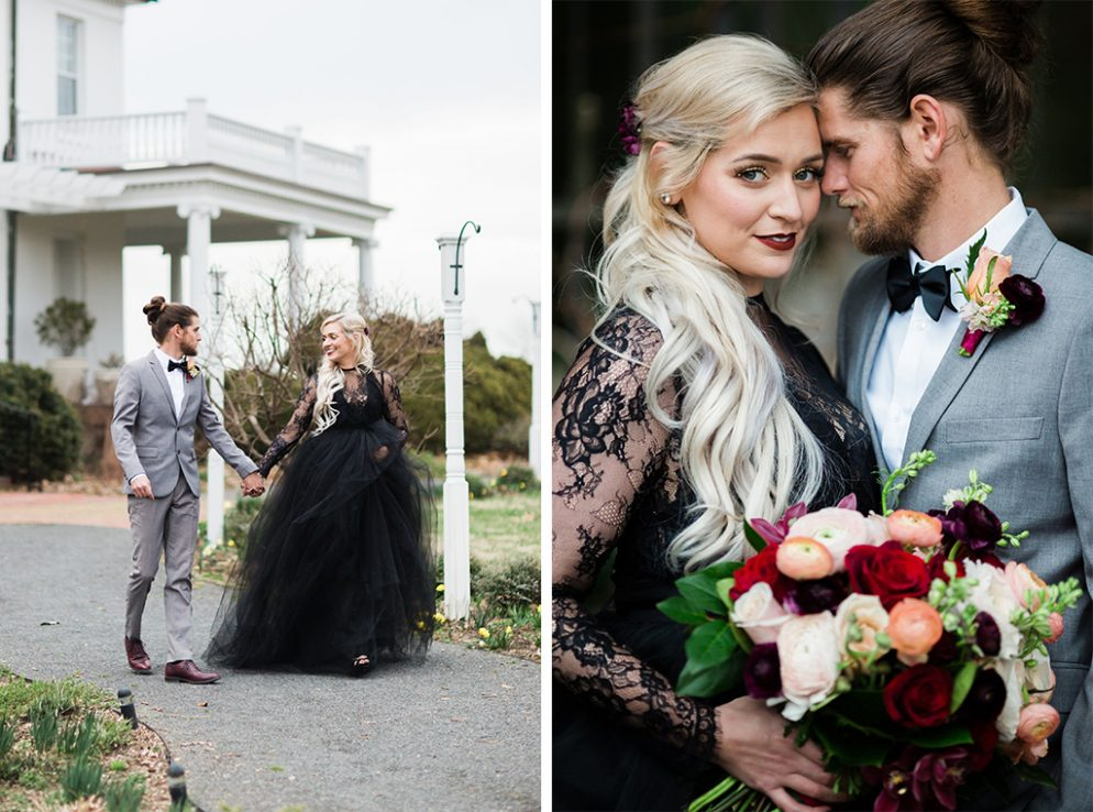 This Dc Couple S Southern Gothic Anniversary Photoshoot