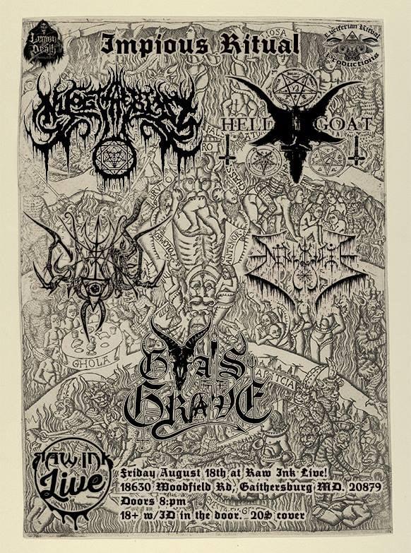 Nazi Metal Band Loses Maryland Gig
