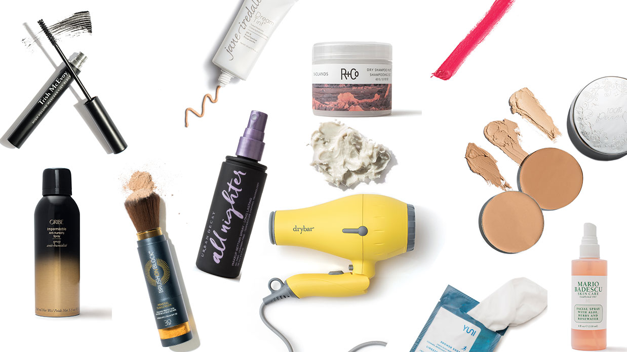 sweat-proof beauty products
