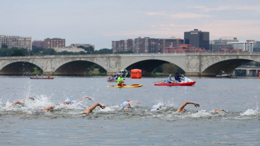 After Canceling the Swim at Four Past Triathlons Due to Unsafe Water, Nation's Triathlon Is Teaming Up With Potomac Conservancy