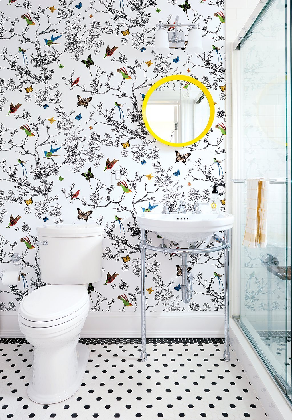 These Awesome Bathrooms Will Make You Forget Boring, Basic White ...