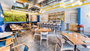 You'll Want to Move Into the Bright, Quirky Dining Room of This New 14th Street Restaurant