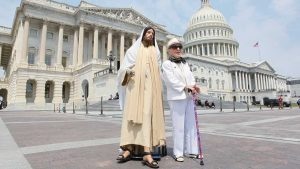 """Jesus Told Her: """"Put Me on the Capitol."""" She Listened to That Voice."""