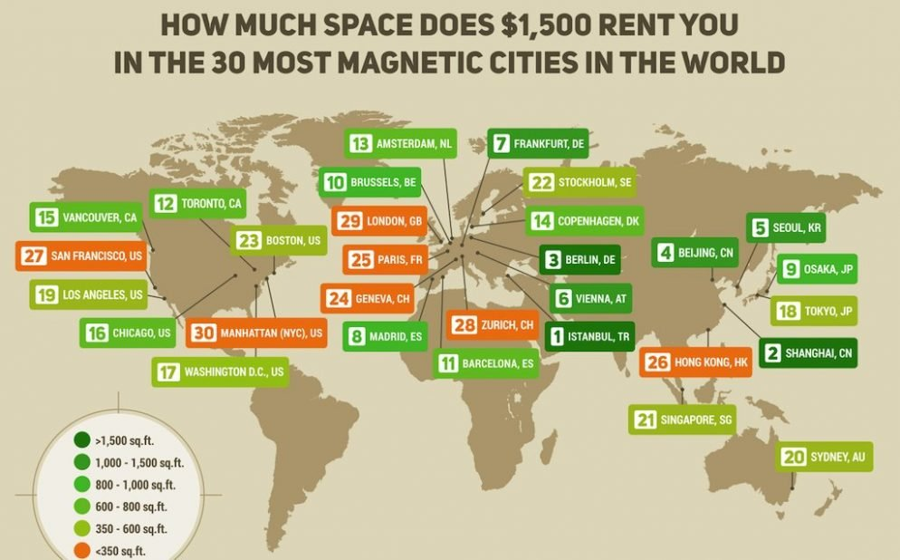 Want to Get a Big Apartment on Your DC Salary Consider Moving to