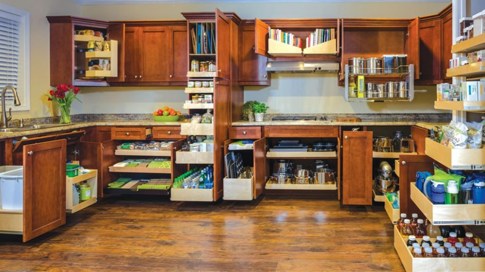 8 Solutions To Combat Cabinet Clutter