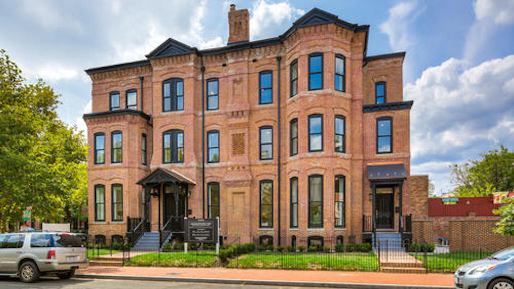 Listing We Love: These Massive Town Homes in Logan Circle Used to Be a Seminary
