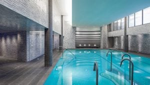 You Can Now Take Underwater Cycling Classes in the Watergate Hotel's Fancy Spa Pool