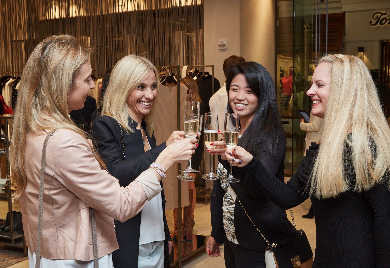 An Evening of Champagne and Shopping with Max Mara