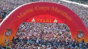 Thinking About Cheating at the Marine Corps Marathon? This Man Will Catch You.