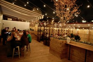 "Shaw's New ""Urban Garden"" Restaurant Feels Like a Backyard Party"