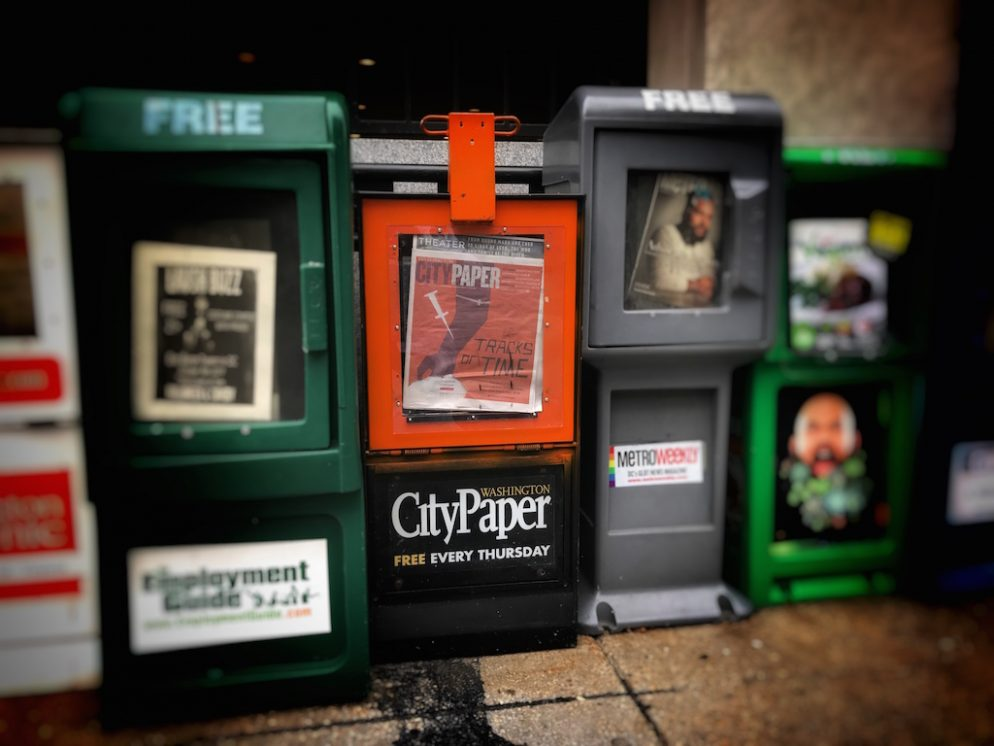 Washington City Paper's Owner Puts It Up for Sale