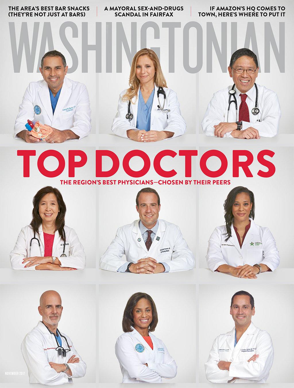 November 2017: Top Doctors | Washingtonian (DC)