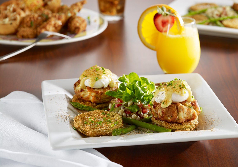 Crab Cake Eggs Benedict Washington Dc