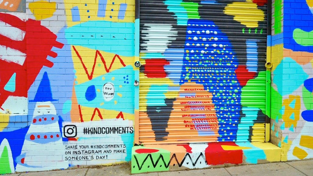 Instagram's #KindComments Campaign Is Coming to Union Market