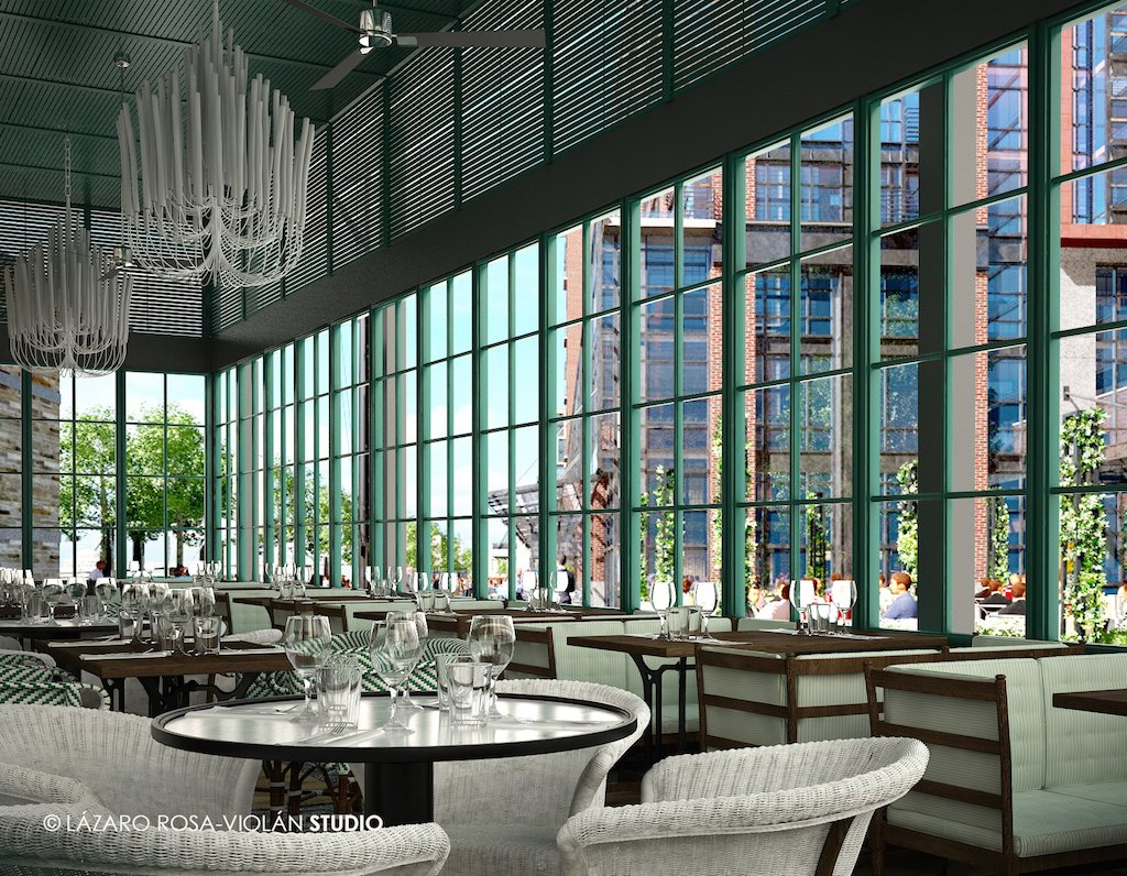 This new dc waterfront spanish restaurant is super luxe