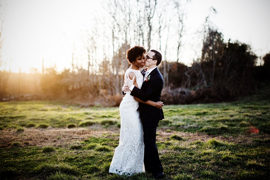 These New Yorkers Traded Brooklyn for BBQ and a Barn Wedding on the Potomac