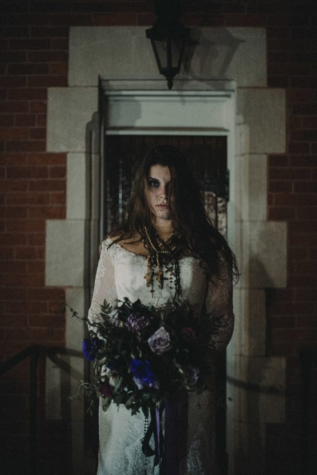 Exorcist Halloween Shoot in Georgetown | Bakerture Photo-15