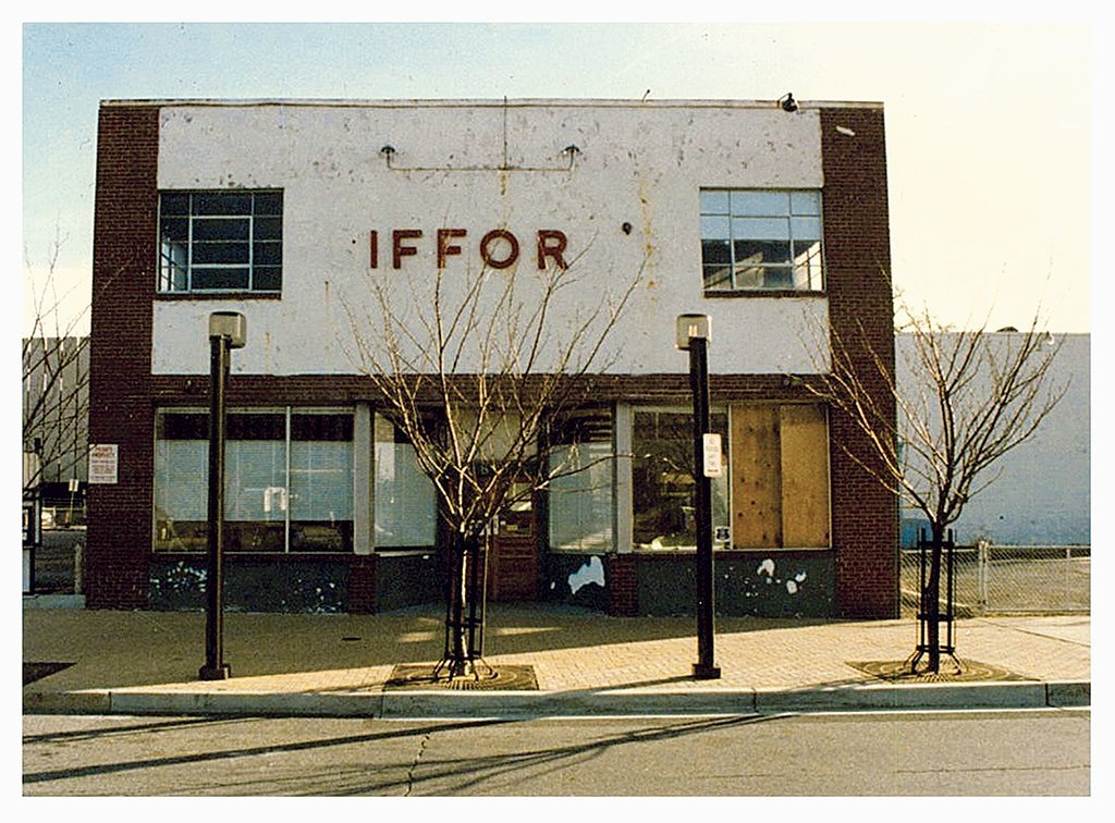 The original Gifford's in Silver Spring, after the business shut and Bob vanished. Photograph by Steven J. Karr.