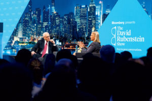 How Did David Rubenstein—Yes, That David Rubenstein—Become a TV Star?