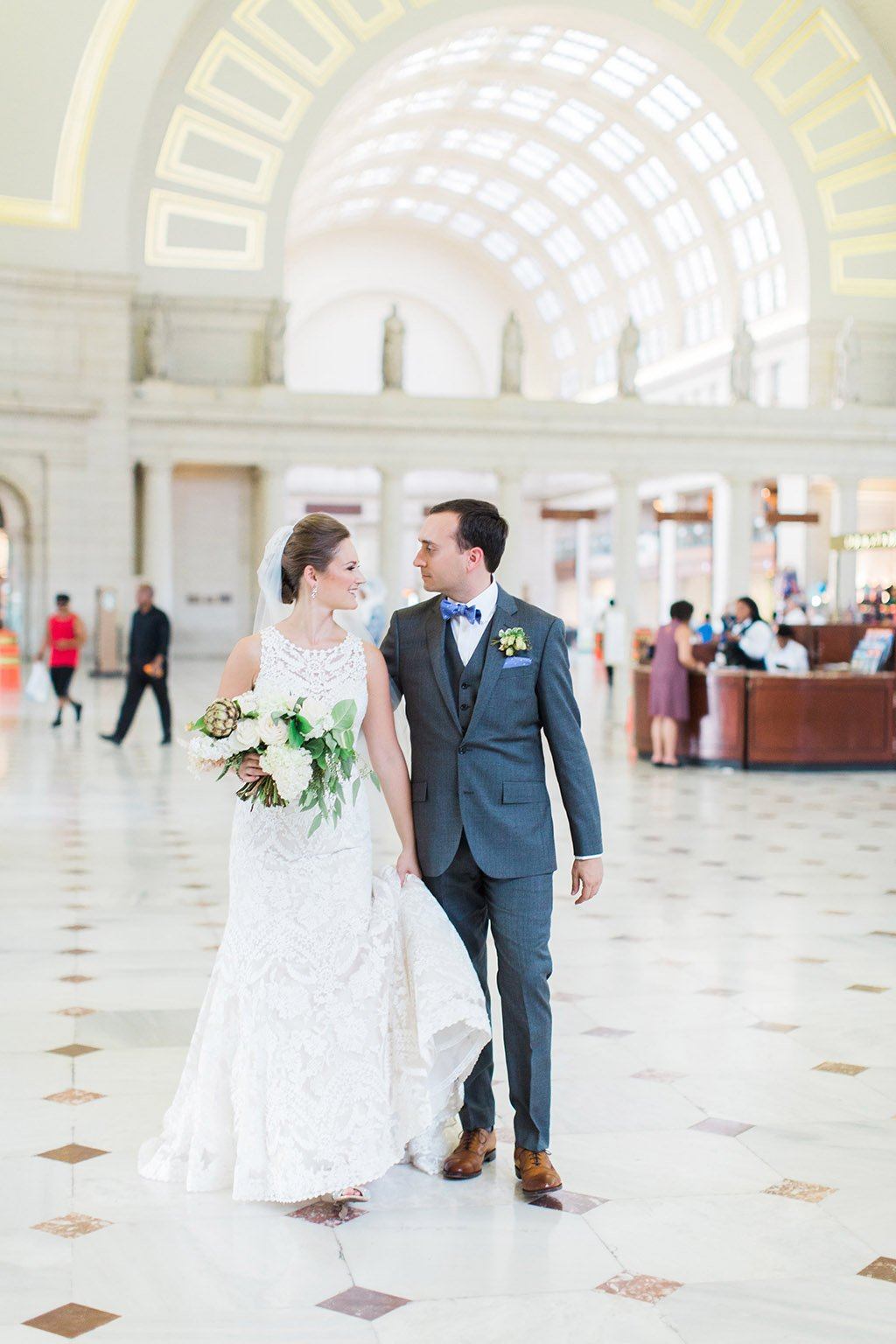 Union Station Wedding Dc Stephanie Schwartzkopf Kevin Collins Late Summer