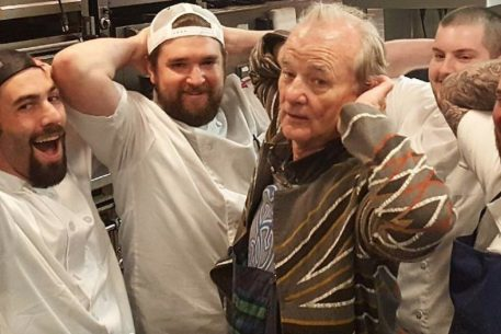 PHOTOS: Bill Murray Danced in the Kitchen at Le Diplomate Wednesday Night