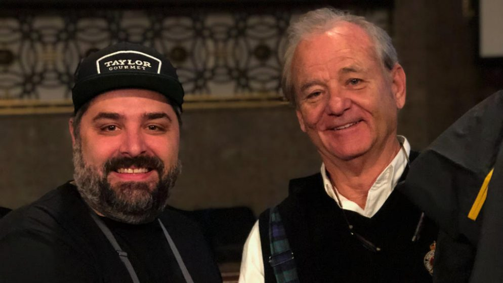Bill Murray Ate Some Taylor Gourmet Because He's Still in DC for Some Reason