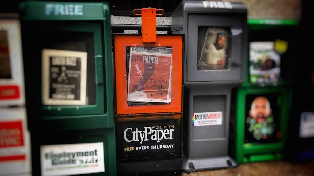 City Paper is for sale