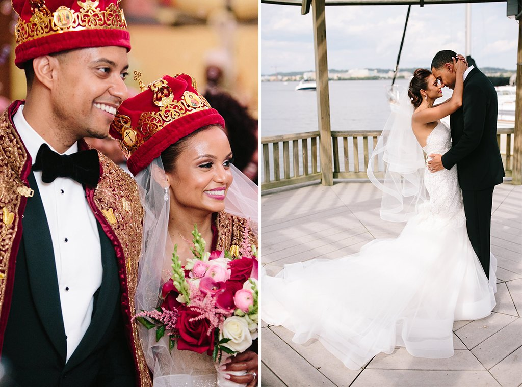 This Couples Glamorous Ethiopian Orthodox Wedding Gives Us Serious