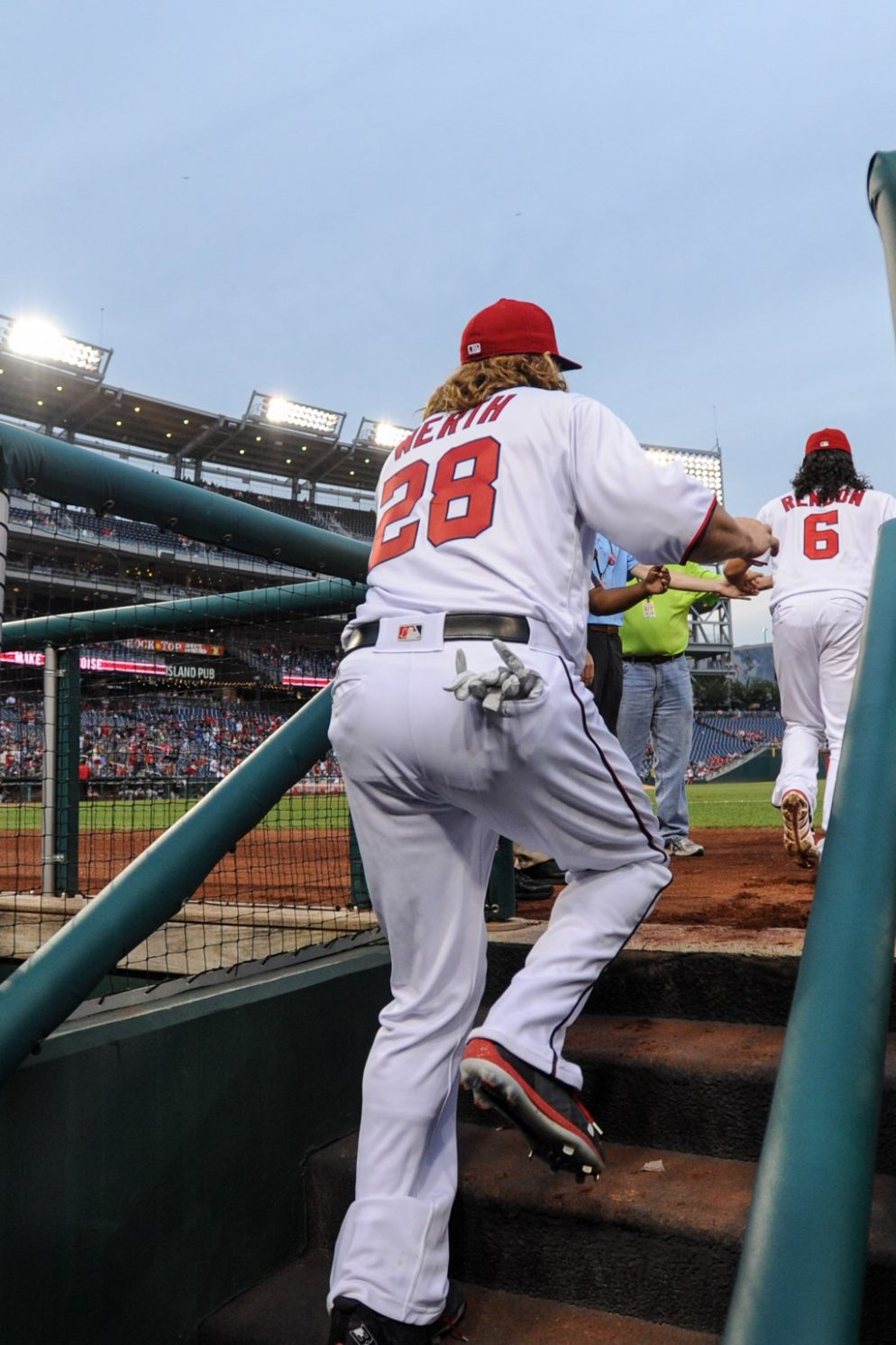 Who Has the Best Butt on the Nationals?
