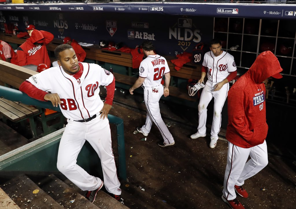 Nationals lose NLDS