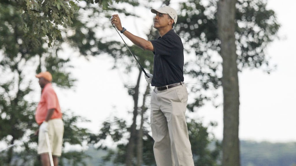 obama army navy country club golf