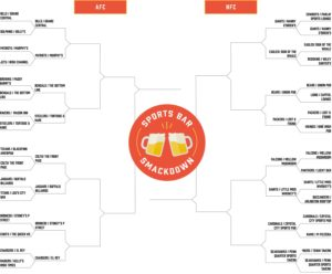 Sports Bar Smackdown: Cast Your Vote to Determine Who Moves on to the Quarterfinals