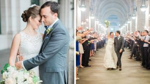 See How This DC Couple Transformed Union Station for Their Late-Summer Wedding
