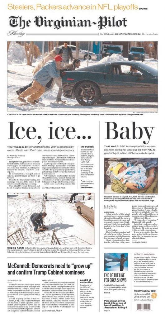 Virginian-Pilot Ice Ice Baby