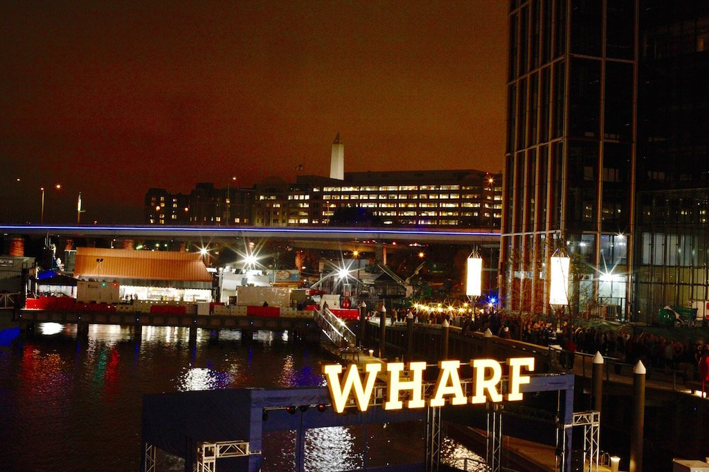 Photos: Washington Welcomes the Wharf