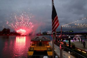 My Opening Night at the Wharf