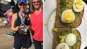 Avocado Toast, Chocolate Chip Cookies, and Wine: What a Marathon Runner Eats in a Day