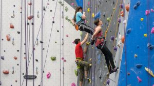 You Can Now Climb for Free at This MASSIVE Northern Virginia Rock Climbing Gym