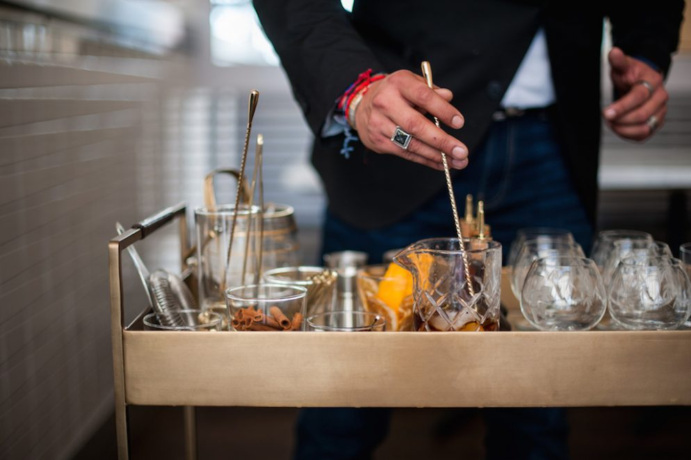Whaley's New Rum Cart Will Serve Build-Your-Own Old-Fashioneds