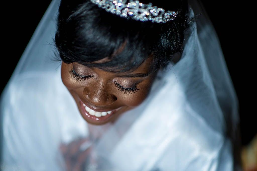 Bintu Kanu tiara real life princess bride maryland wedding