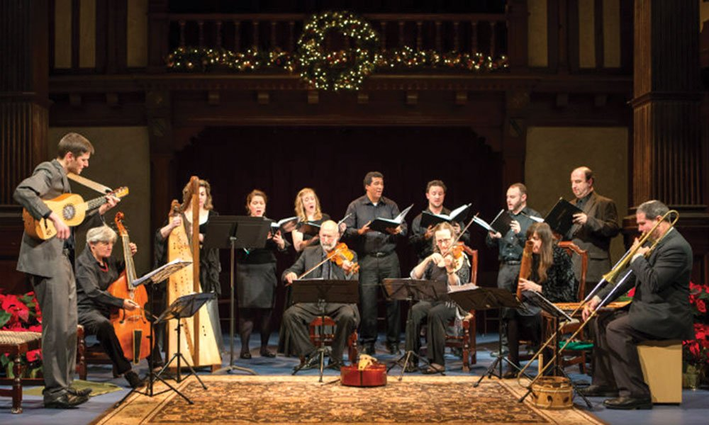 Folger Consort's Seasonal Early Music of Germany